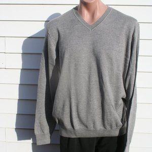 Mens Black Brown 1826 Grey Marino Wool Sweater NEW